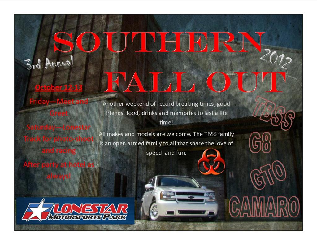 2012 Southern Fall Out