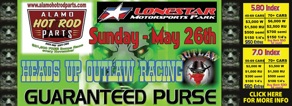 Outlaw Race May 26