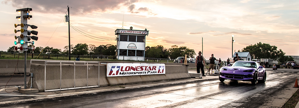 Lonestar Motorsports Park Race Night  Viper Launch