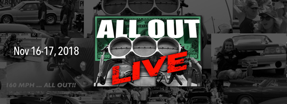 ALL OUT Live at Lonestar Motorsports Park