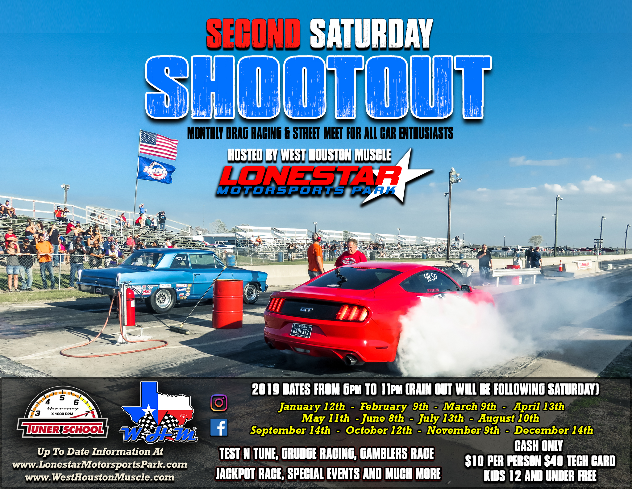 Second Saturday Shootout Hosted by West Houston Muscle